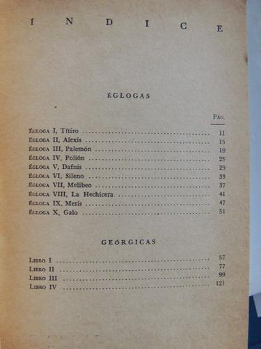 egoglas y georgicas virgilio maron austral espasa calpe