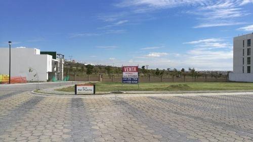 egs-terreno unifamiliar en venta en angelopolis en esquina