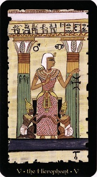 egyptian tarot grand trumps (este tarot esta en ingles)