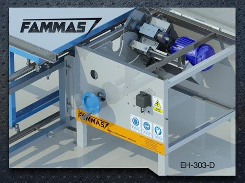 eh-303-d escuadradora para carpinteria con incisor