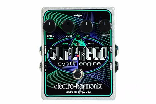 ehx super ego synth freeze ambient pedal 12 msi envio gratis