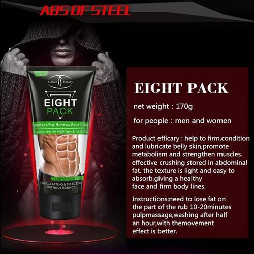 eight pack, gel reductor de grasa abdominal, envio gratis