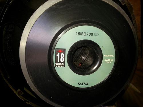 eighteen sound 15mb 700 original