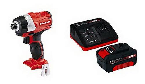 einhell combo te-ci atornillador de impacto con bateria 3amp
