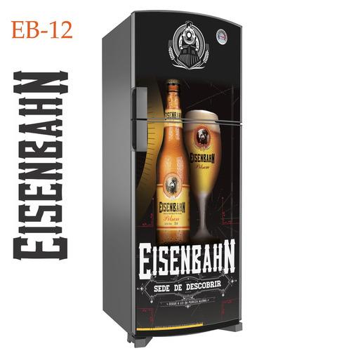Armario Planejado Para Cozinha Pequena ~ Eisenbahn Adesivo Geladeira Cervejas R$ 59,99 em Mercado Livre