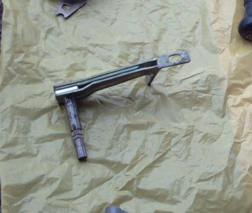 eixo garfo embreagem golf 94 98 alavanca cambio original vw