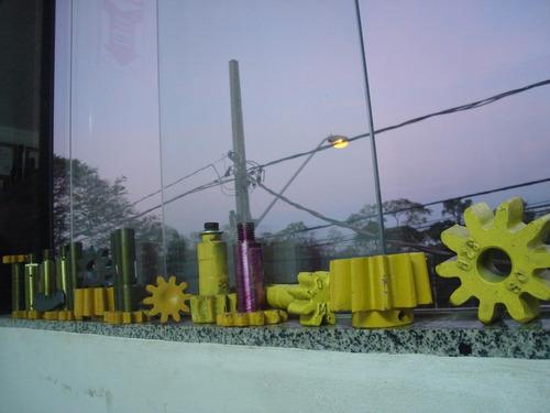 eixo para polia/peao betoneira menegott 400lt profissional