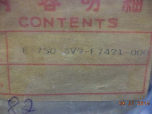 eixo secundario (pinhão) yamaha rx 125 até 1982
