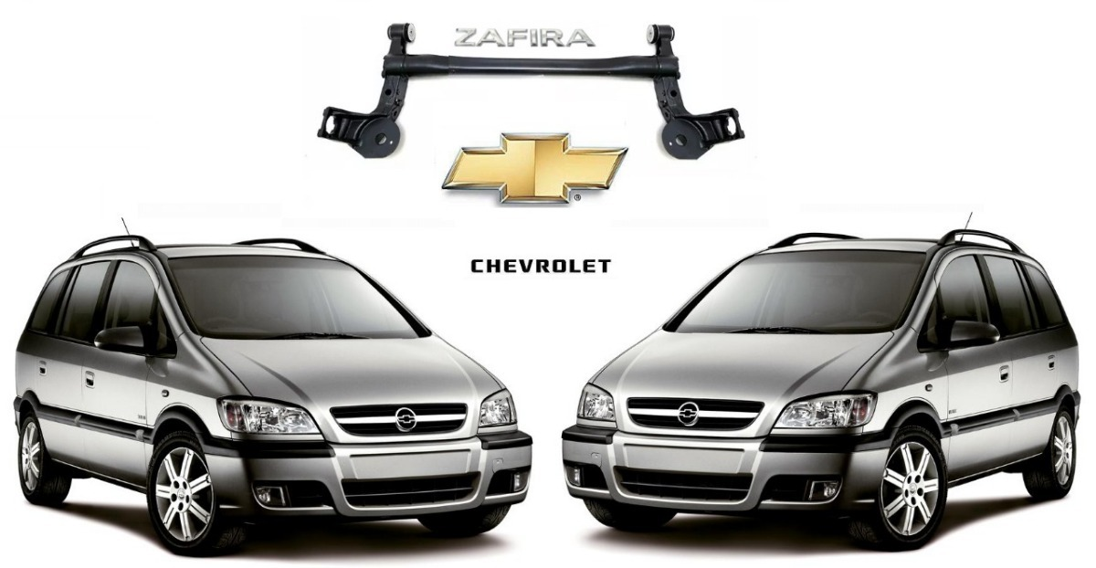 Eixo Traseiro Chevrolet Zafira 2010 Original
