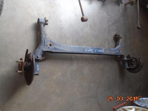 eixo traseiro com cubos de roda corolla 03 08