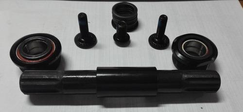eje  8 estrias 19mm con copas selladas para caja euro