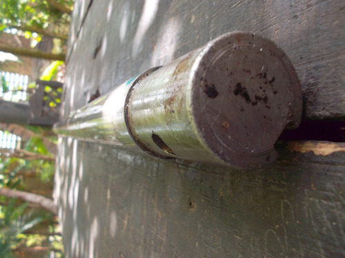eje central de propela de1.18mts de largo x1 1/2  acero inox