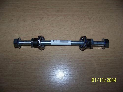 eje de maza trasera 3/8 170/175mm completo con munición bici