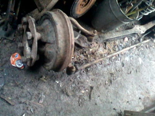 eje elasticos traylers de camion  ford f600