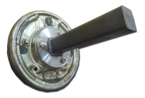eje para trailer c/maza 5 aguj tipo f100 c/freno hidráulico