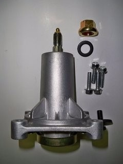 eje torreta mini tractor mtd 738-0927 918-0430 largo 132mm