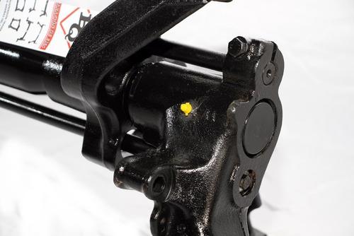 eje trasero 405 armado con pernos y rulemanes nuevos