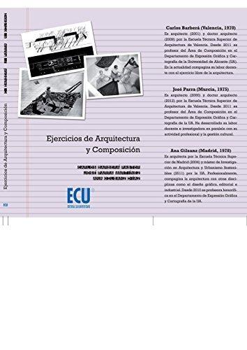 ejercicios de arquitectura y composición; carlos barberá pa