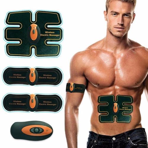 ejercitador abdominal y muscular recargable, smart fitness