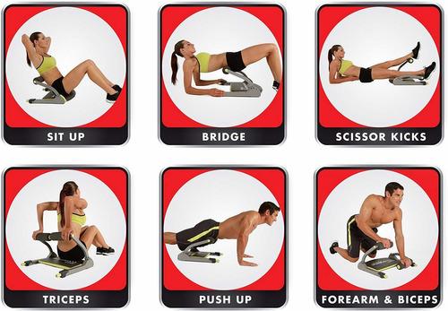 ejercitador corporal wonder core multiples ejercicios en uno