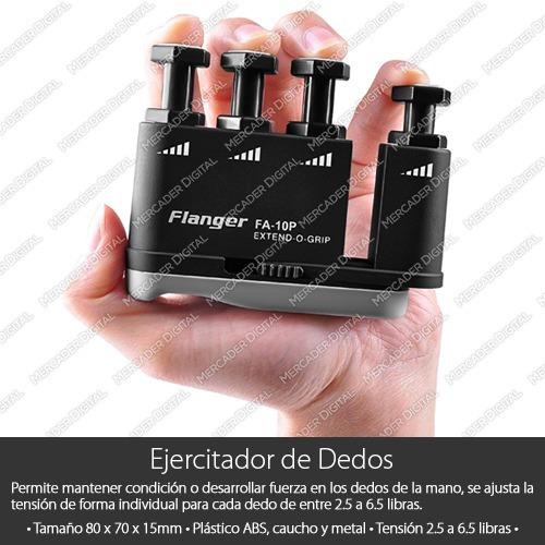 ejercitador dedos + capo traste + soporte pared + envío