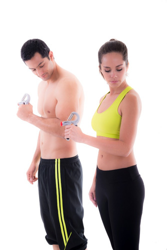 ejercitador para mano ajustable body fit bf-hgt330
