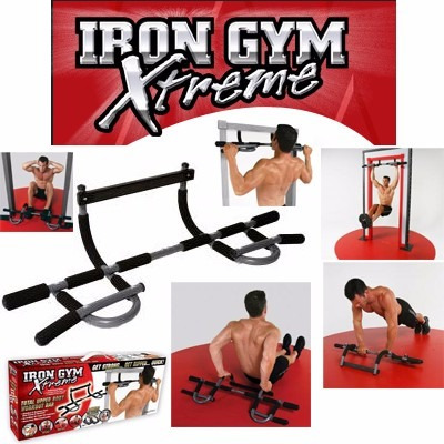 ejercitador profesional iron gym garantizado