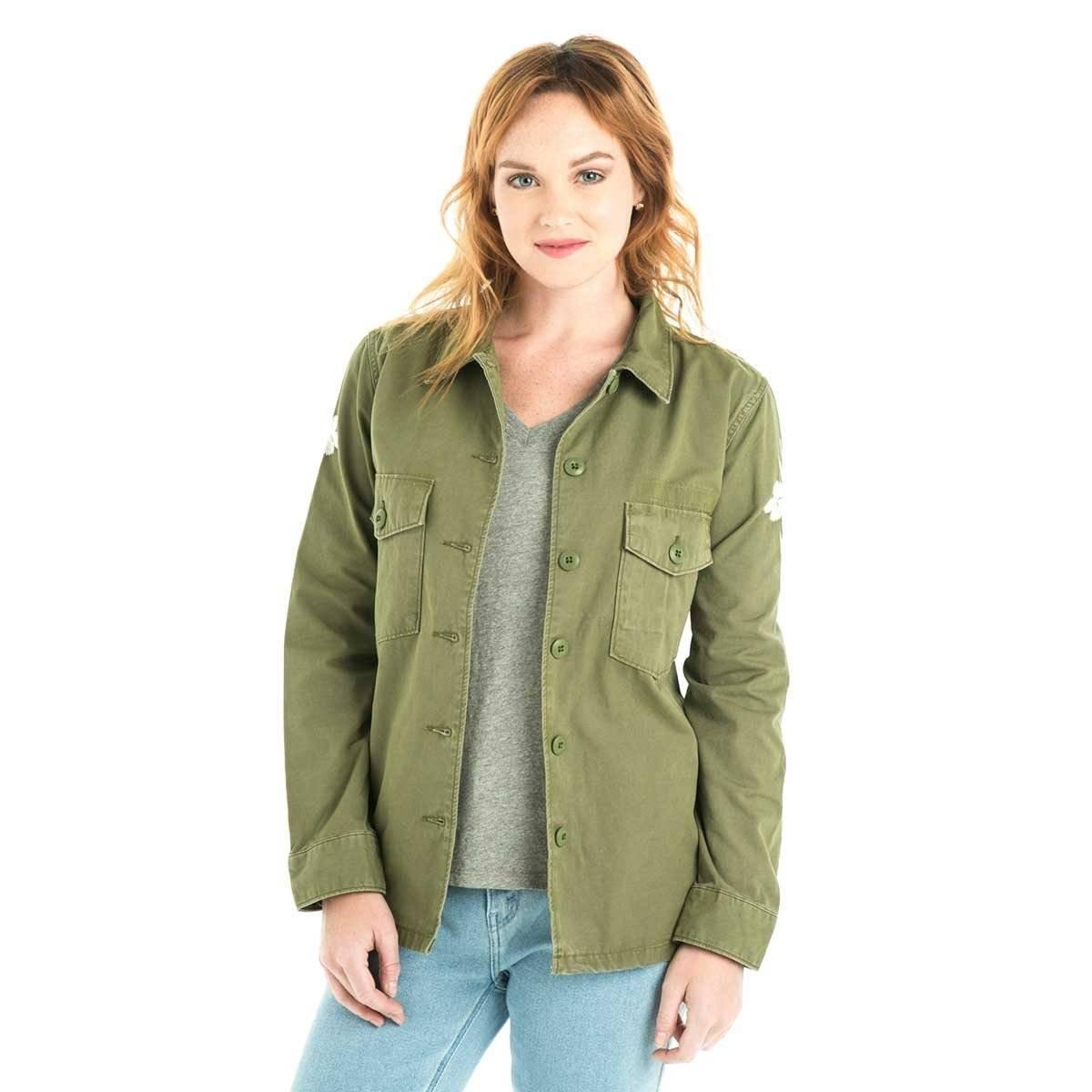 Chamarra Chaqueta Camisa Mujer En 00 De 053 Levis® Ejército 2 7w6Rq5nq