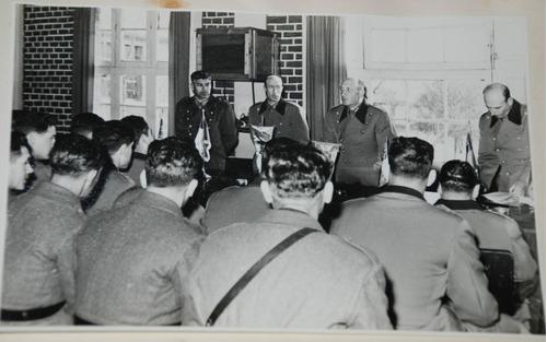 ejercito. militares. album de fotos. regimiento buin 1963