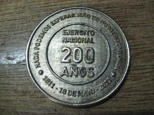 ejercito uruguay - medalla de los 200 años
