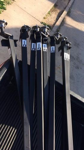 ejes de torsión evchile para carros de arrastre 650 kg