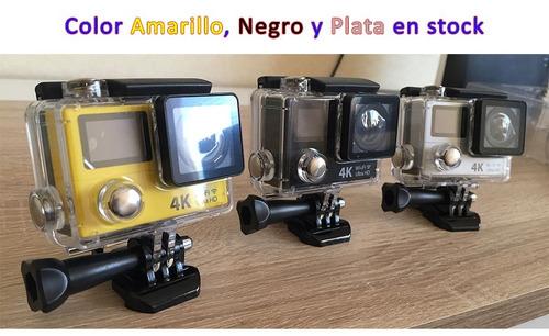 eken h3r 4k wifi camara video digital deportes + accesorios!