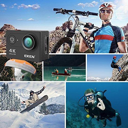 eken h9r cámara de acción 4k wifi cámara impermeable de depo