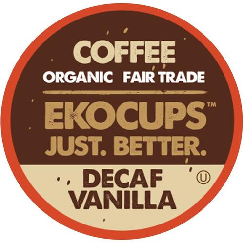 ekocups vainilla artesanal descafeinado orgánica, café to