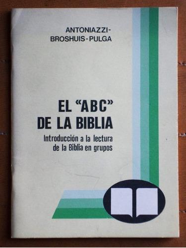 el abc de la biblia / antoniazzi - broshius - pulga