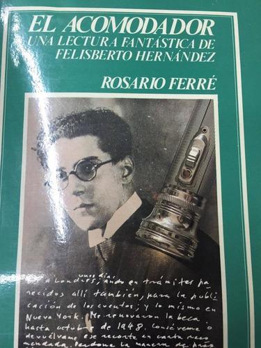 el acomodador. una lectura fantastica de f. hernandez. ferre
