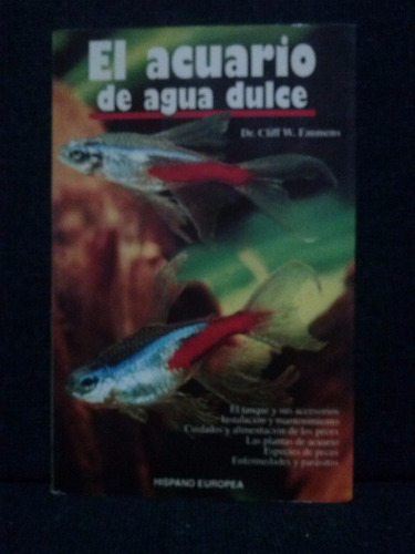 el acuario de agua dulce, cliff w. emmens
