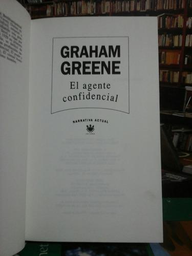 el agente confidencial, graham greene, novela.