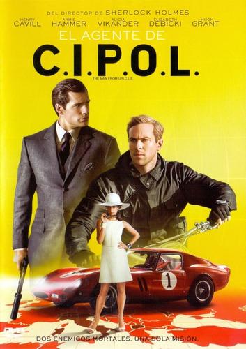 el agente de cipol henry cavill pelicula dvd