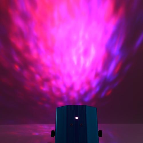 el agua 10w rgb led ondulaciones luz lámpara luz etapa