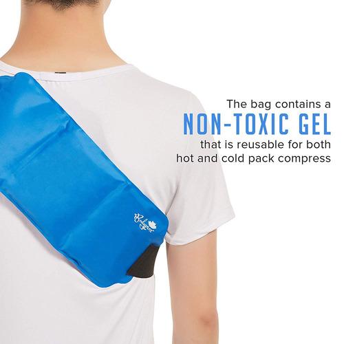 el alivio del dolor bolsa de hielo con correa para terapia d