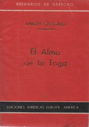 el alma de la toga angel ossorio m00641