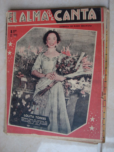el alma que canta 1587 25/8/1953 f canaro lolita torres