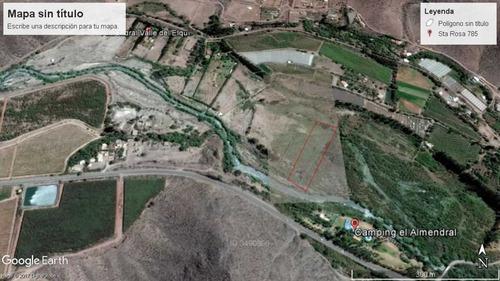 el almendral , 60 mts de orilla de rio