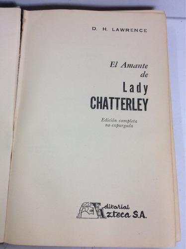 el amante de lady chaterley, d. h. lawrence
