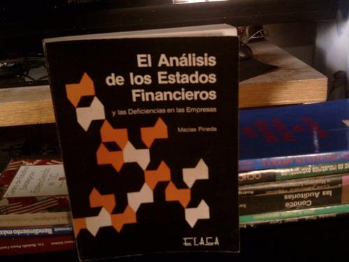 el análisis de los estados financieros