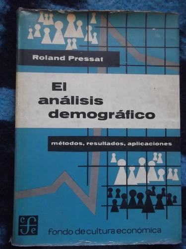 el análisis demográfico roland pressat