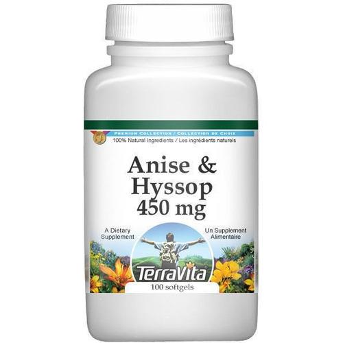 el anís y el hisopo combinación - 450 mg (100 cápsulas,