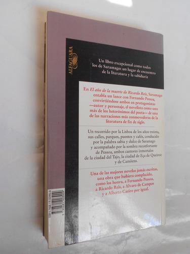 el año de la muerte de ricardo reis, saramago, libro usado