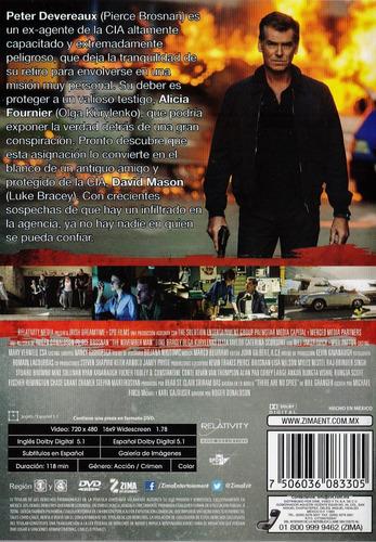 el aprendiz november man pierce brosnan pelicula dvd